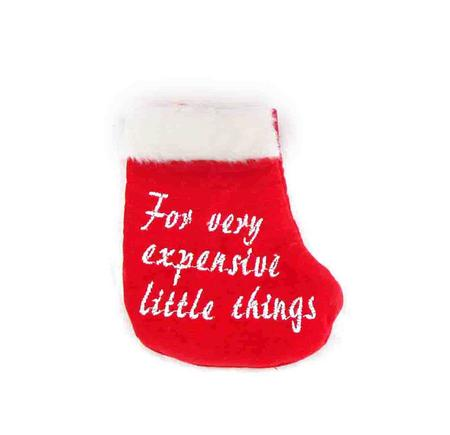 For Expensive Little Things Stocking