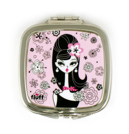 Chelsea Chick Compact Mirror By Fluff