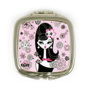 Chelsea Chick Compact Mirror By Fluff Thumbnail 1