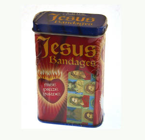Jesus - First Aid In A Tin - Plasters / Band Aids Thumbnail 2