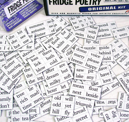 The Original Fridge Poetry Magnet Set