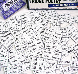 The Original Fridge Poetry Magnet Set Thumbnail 1