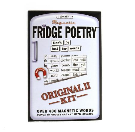 The Original Fridge Poetry Set 2