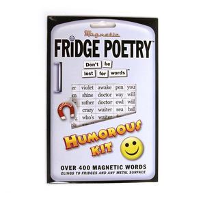 Humorous Fridge Poetry Magnet Set Thumbnail 2