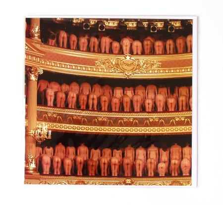Opera Buffs By Peter Maenhoudt Greeting Card