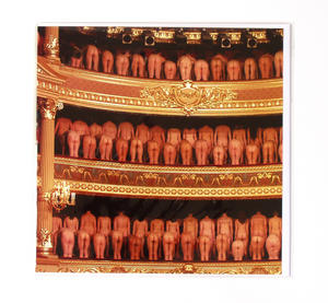 Opera Buffs By Peter Maenhoudt Greeting Card Thumbnail 1