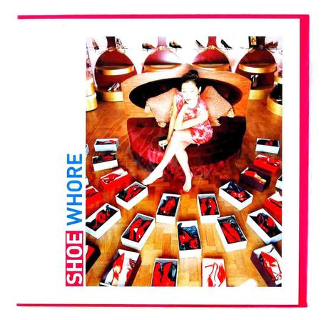 Shoe Whore Greeting Card