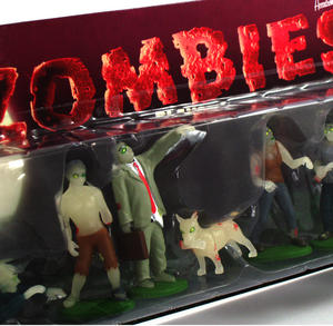 Glow In The Dark Flesh Eating Zombies Playset Thumbnail 1