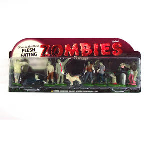 Glow In The Dark Flesh Eating Zombies Playset Thumbnail 2
