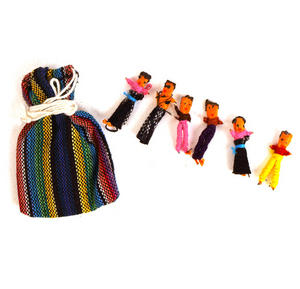 Guatemala Worry Dolls - Share Your Worries And Lose Them. Thumbnail 1