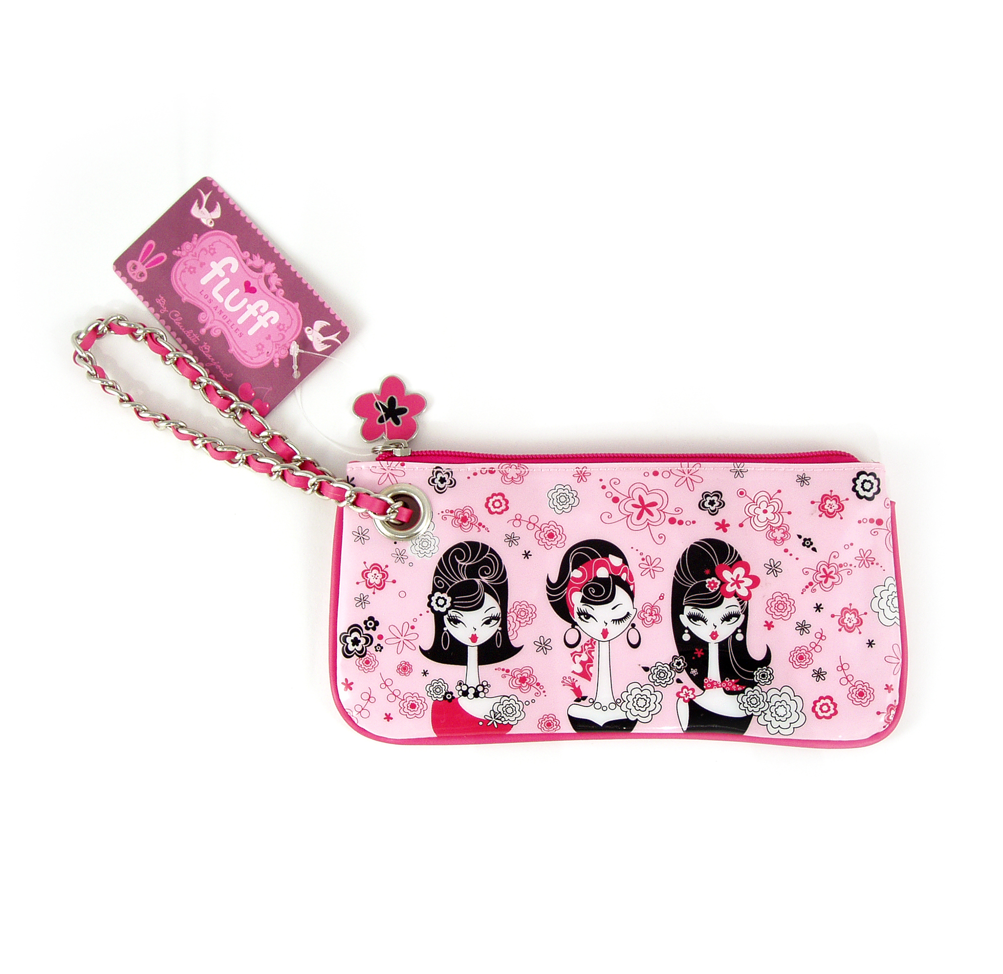 023a663bc385 Chelsea Chick Make Up Clutch by Fluff 5055491400377