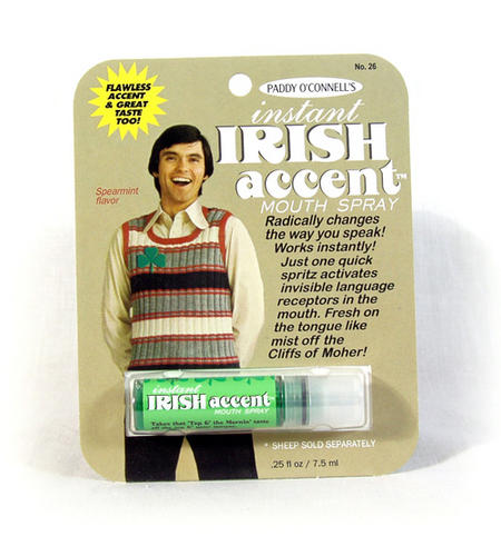 Instant Irish Accent Breath Freshener