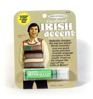 Instant Irish Accent Breath Freshener Thumbnail 1