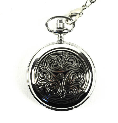 Celtic Triple Swirl Pocket Watch