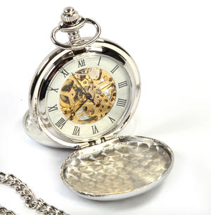 Celtic Triple Swirl Pocket Watch Thumbnail 6