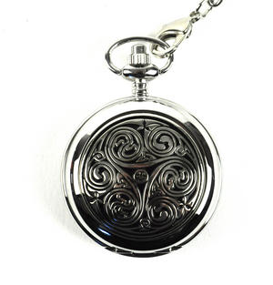 Celtic Triple Swirl Pocket Watch Thumbnail 1