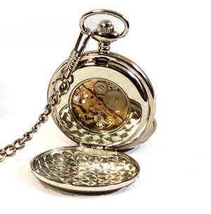 Celtic Neverending Knot Pocket Watch Thumbnail 2
