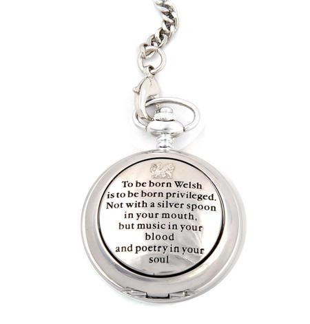 Born Welsh Pocket Watch