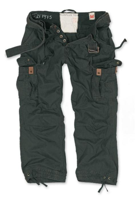 Surplus Raw Vintage Premium Plus Size Combat Trousers Pants Black 5XL Thumbnail 1