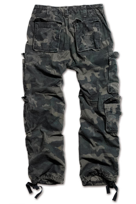 Surplus Raw Vintage Airborne Combat Trousers Pants Black Camo  Thumbnail 2