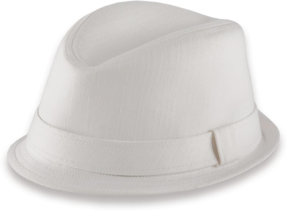 New Trilby Casual Small Brim Ska Rude Boy Hat White  54049df7019