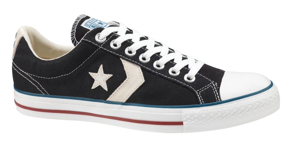 4ce4c5e49c1c New Converse Star Player Ox Canvas ReIssue Black UK 7 Thumbnail 1