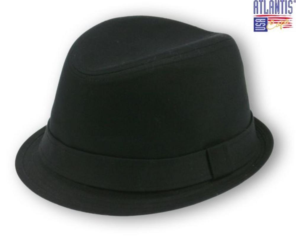New Trilby Small Brim Ska Rude Boy Mod Hat Black L   XL  212c8f53cb0