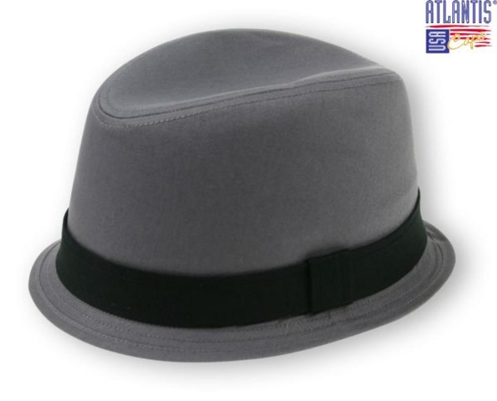 New Trilby Small Brim Ska Rude Boy Mod Hat Grey  10d69631682