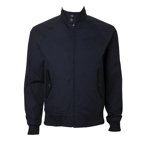 new ben sherman mod retro harrington jacket navy blue plus size adaptor clothing. Black Bedroom Furniture Sets. Home Design Ideas