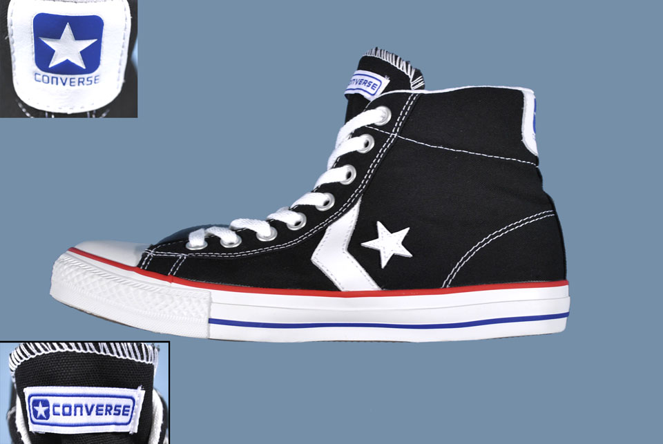 db9d85d30fb68b New Converse Star Player Hi Canvas Trainer Boot Black