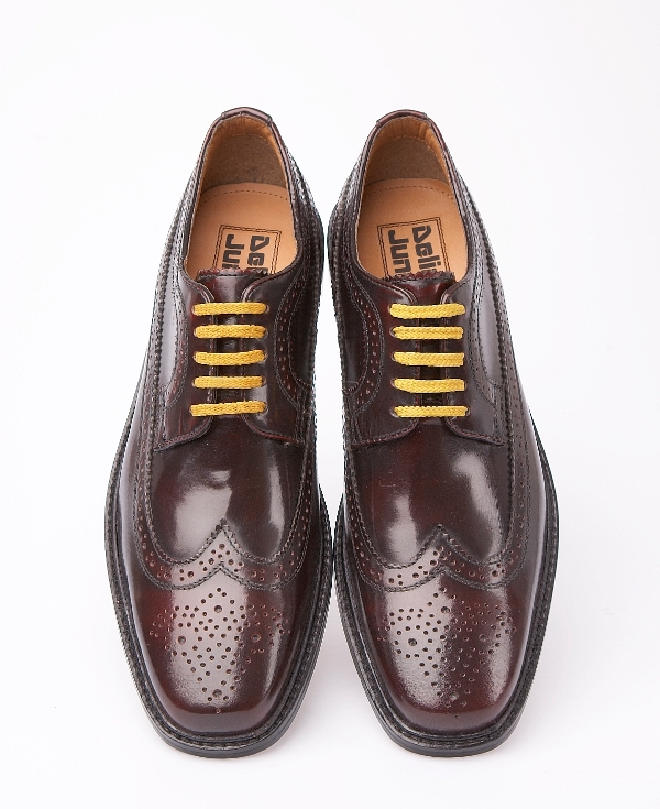 57a31afc Delicious Junction Skin Mod Brogue Leather Shoe Oxblood | Adaptor ...