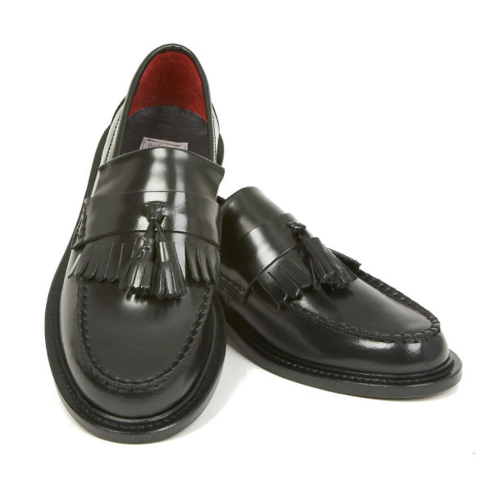 New Delicious Junction Tassel Loafers Mod Shoes Black