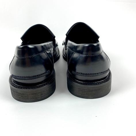 New Delicious Junction Tassel Loafers Mod Shoes Black Thumbnail 6