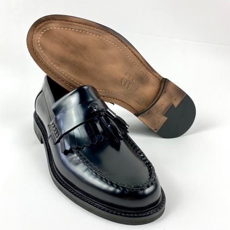 New Delicious Junction Tassel Loafers Mod Shoes Black Thumbnail 4