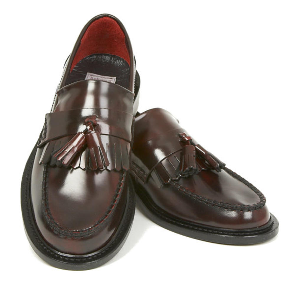 New Delicious Junction Tassel Loafers Mod Shoe Ox Blood