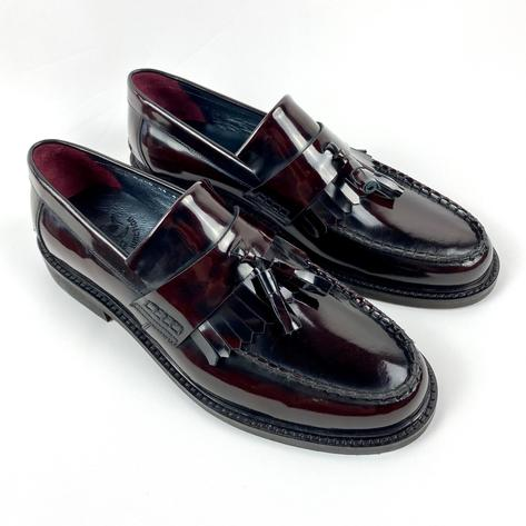 New Delicious Junction Tassel Loafers Mod Shoe Ox Blood Thumbnail 1
