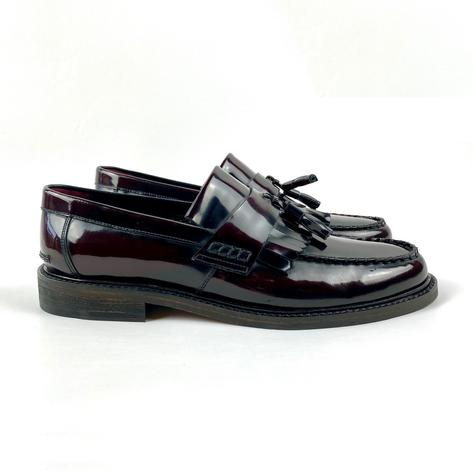 New Delicious Junction Tassel Loafers Mod Shoe Ox Blood Thumbnail 3
