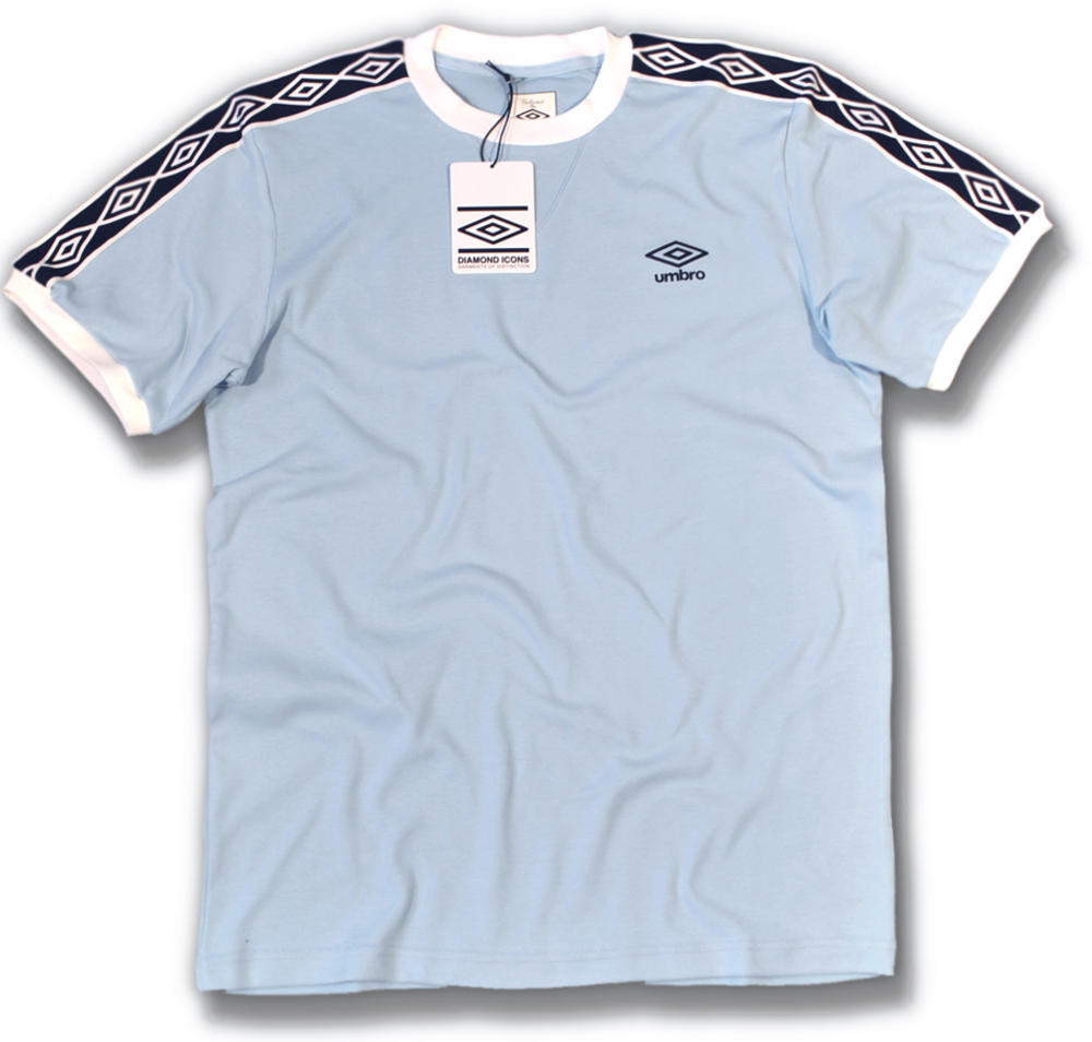 37e2caf4 Umbro Classics Diamond Icons Ringer T Shirt Sky Blue | Adaptor Clothing