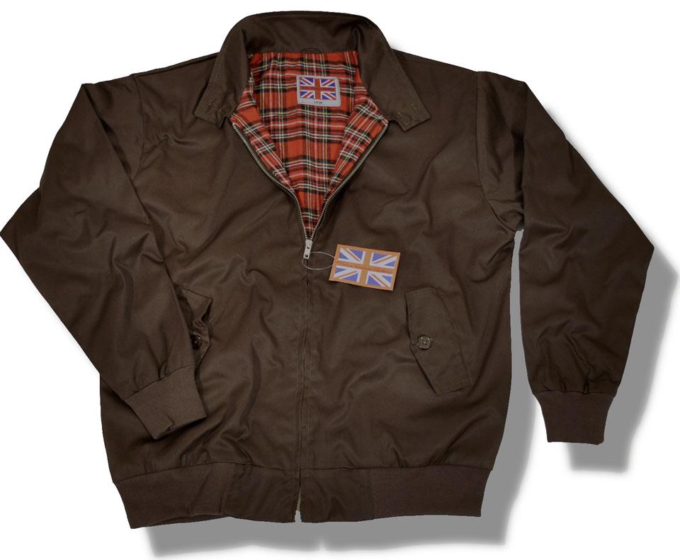 Classic Mod Skin Harrington Jacket Tartan Lining 9 Colours