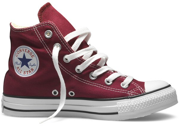Converse Chuck Taylor All Star Hi Top Canvas Trainer Boot Maroon M9613 UK 8  Thumbnail 1 0c6788580