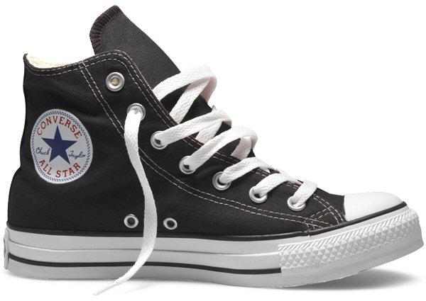 7843e4580237 Converse Chuck Taylor All Star Hi Top Canvas Trainer Boot Black M9160 UK 15  Thumbnail 1