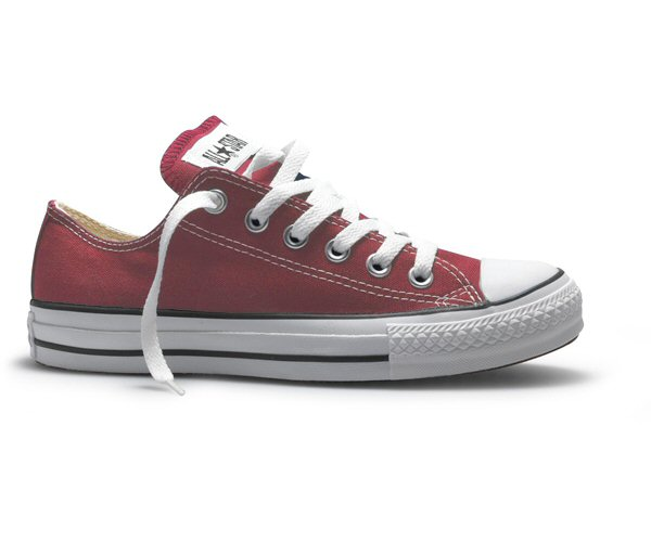 e4906cce9b98 New Converse All Star Chuck Taylor Lo Ox Wine Red UK 3 Thumbnail 1