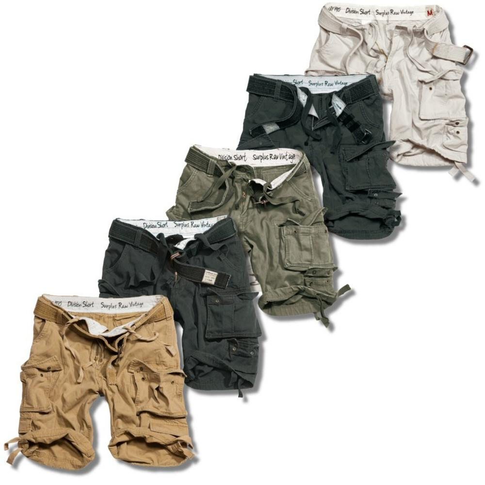 Surplus Raw Vintage Division Belted Cargo Shorts