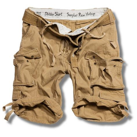 Surplus Raw Vintage Division Belted Cargo Shorts  Thumbnail 2