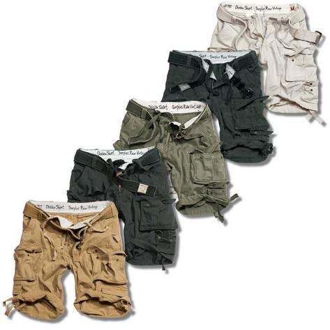 Surplus Raw Vintage Division Belted Cargo Shorts  Thumbnail 1