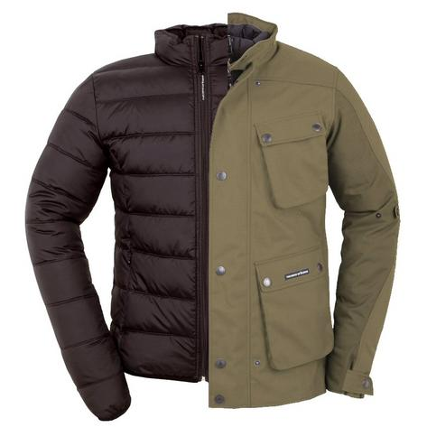 Tucano Urbano Armoured 3 in 1 Ventilated Giacca Trip All Weather Scooter Jacket Thumbnail 2