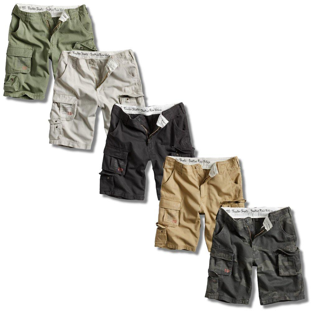 Surplus Raw Vintage Trooper Military Style Combat Cargo Shorts