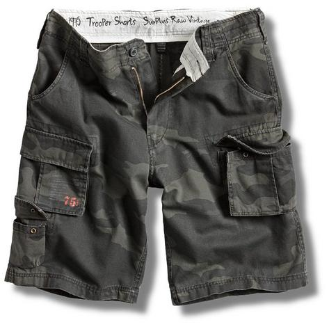 Surplus Raw Vintage Trooper Military Style Combat Cargo Shorts  Thumbnail 3