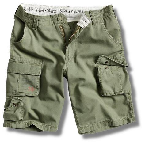 Surplus Raw Vintage Trooper Military Style Combat Cargo Shorts  Thumbnail 4