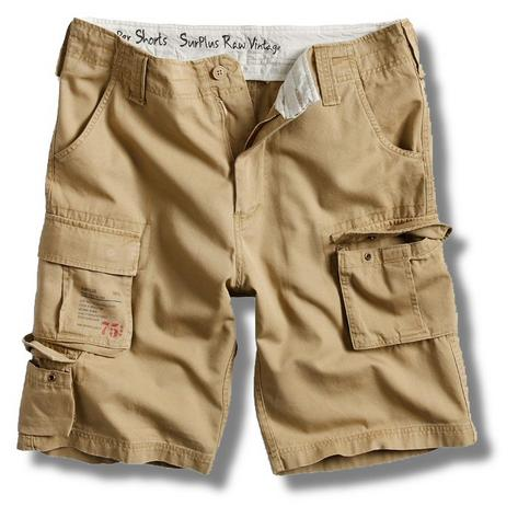 Surplus Raw Vintage Trooper Military Style Combat Cargo Shorts  Thumbnail 5